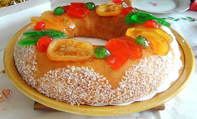 Epiphany in France: King cake France
