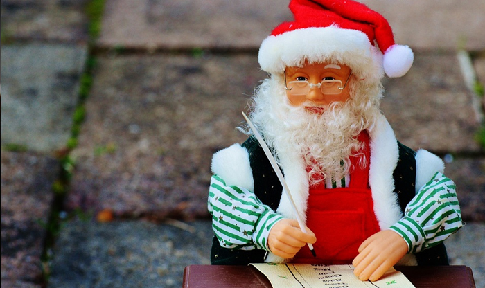 French holidays: Santa letters