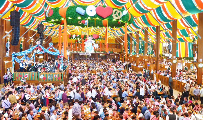 Top festivals in Germany: Oktoberfest