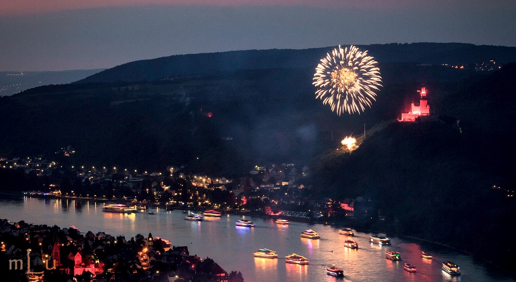 Top German festivals: Rhine fireworks