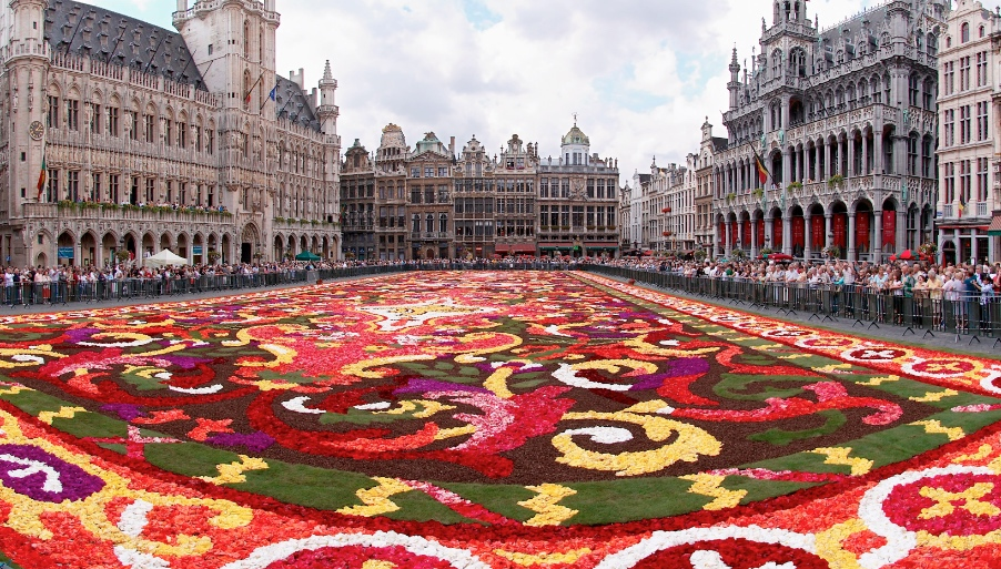 Top Belgian festivals: Flower Carpet