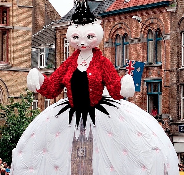 Best festivals in Belgium: Kattenstoet
