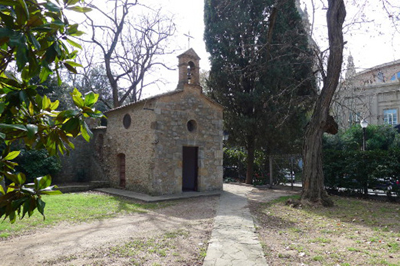 The Santa Madrona Chapel in Spain