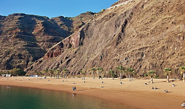 Top 10 Murcia beaches: Playa de las Palmeras