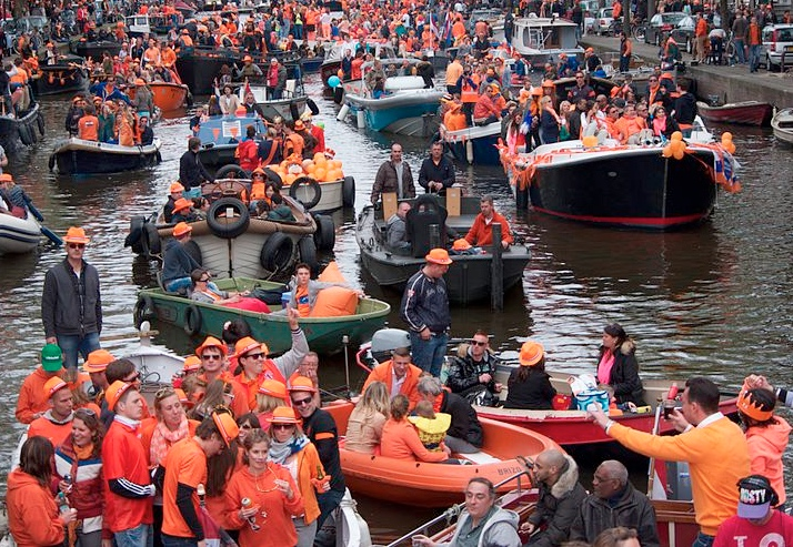 King's Day boat parade