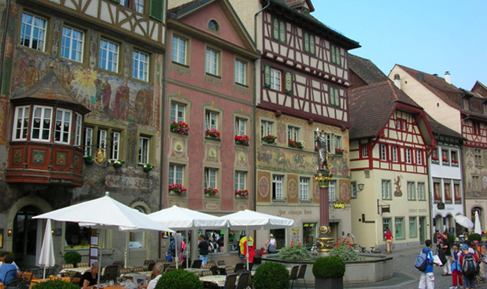 Diccon Bewes: The 10 prettiest small towns in Switzerland - Stein am Rhein