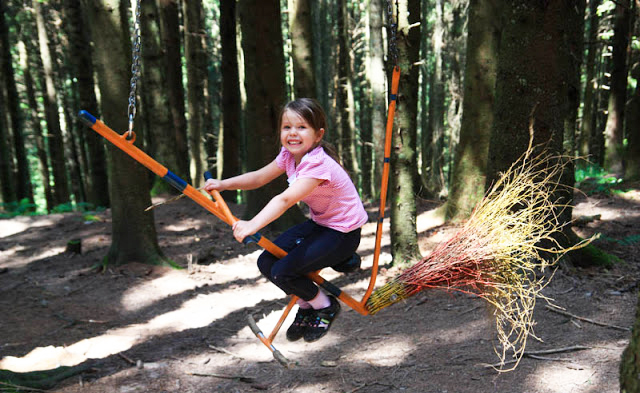 Top 10 theme trails in Switzerland for kids: Wirzweli Witch Trail