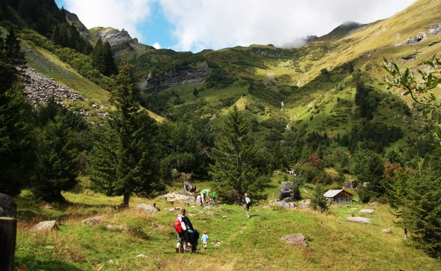 Top 10 theme trails in Switzerland for kids: Riesenwald at Elm