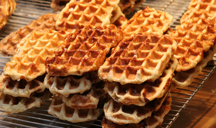 Top 10 Belgian foods – with recipes: Waffles