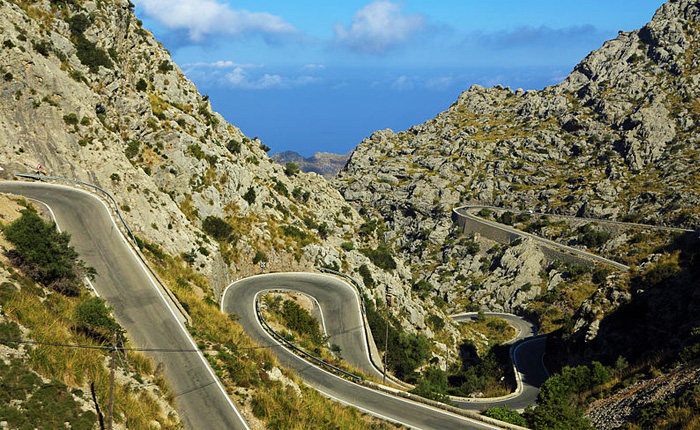 Top 8 hidden summer destinations in Spain: Sa Calobra, Mallorca