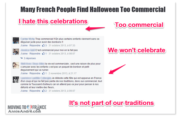 Halloween in France: anti french halloween