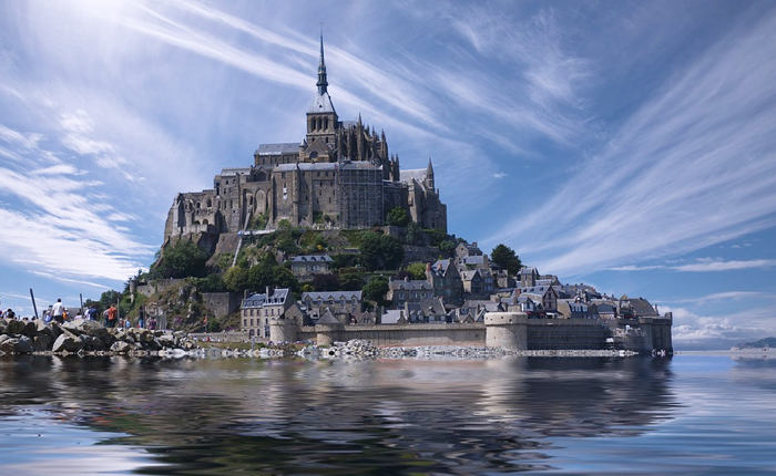 Top 10 places to visit in France: Le Mont Saint-Michel