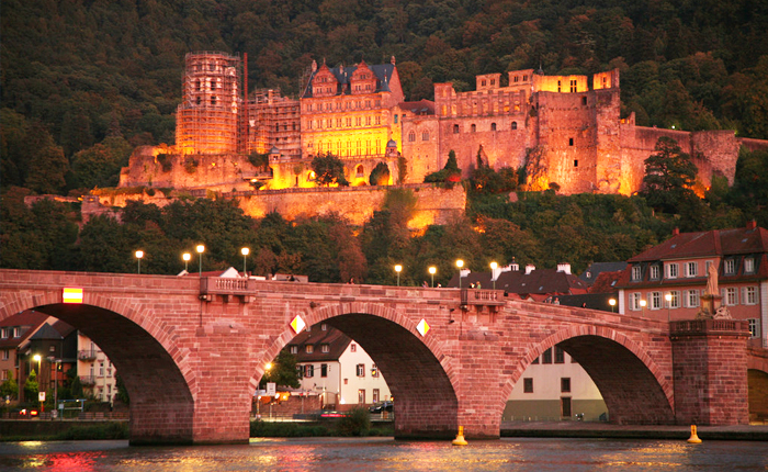 Germany places to visit: Heidelberg
