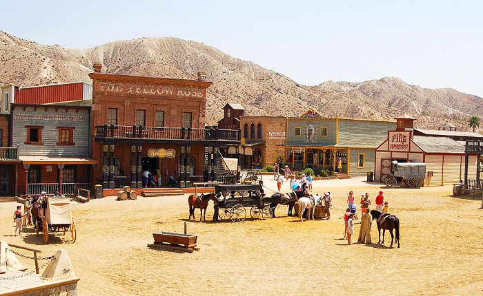 Top 10 places to visit in Spain: Mini Hollywood in Almeria