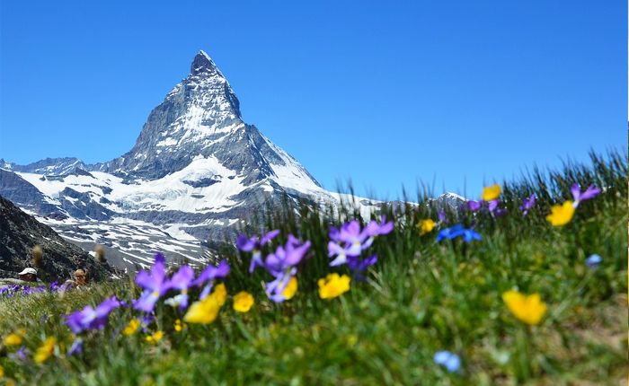Top 10 places to visit in Switzerland: Matterhorn in Zermatt