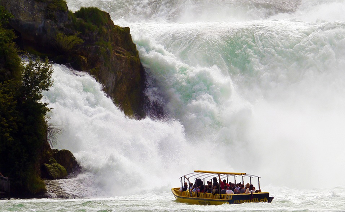 Top 10 places to visit in Switzerland: Rheinfall