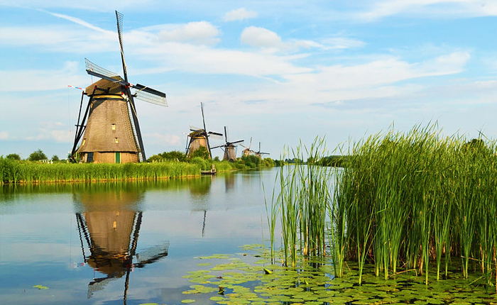 Top 10 places to visit in the Netherlands: Kinderdijk