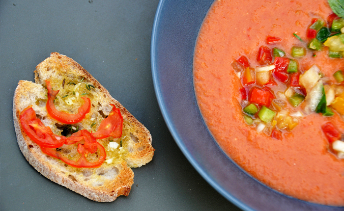 Top 10 Spanish foods – with recipes: Gazpacho