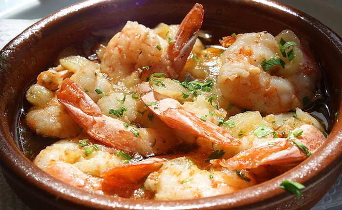 Top 10 Spanish foods – with recipes: Gambas al ajillo