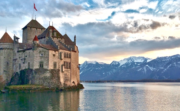 Top Swiss places: Chillon castle