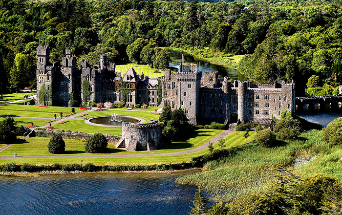 Best castle hotels: Ashford Castle