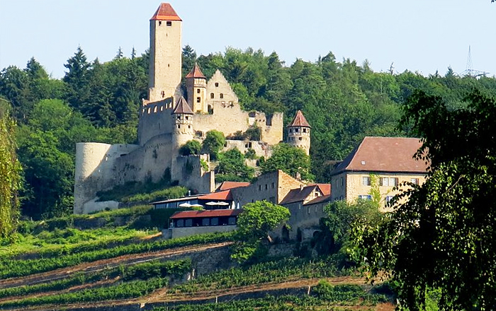 Stay in a castle: Schloss Hornberg