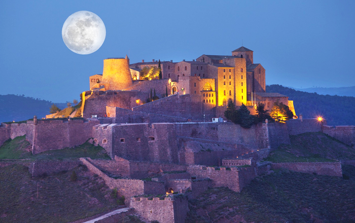 Stay in a castle: Parador de Cardona