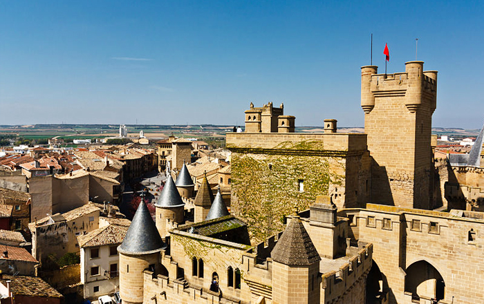Castles to stay in: Parador de Olite