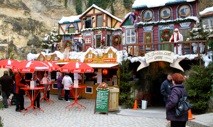 Winter in Holland: Valkenburg Christmas market event