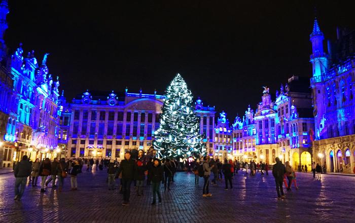 Best European Christmas markets: Brussels christmas market
