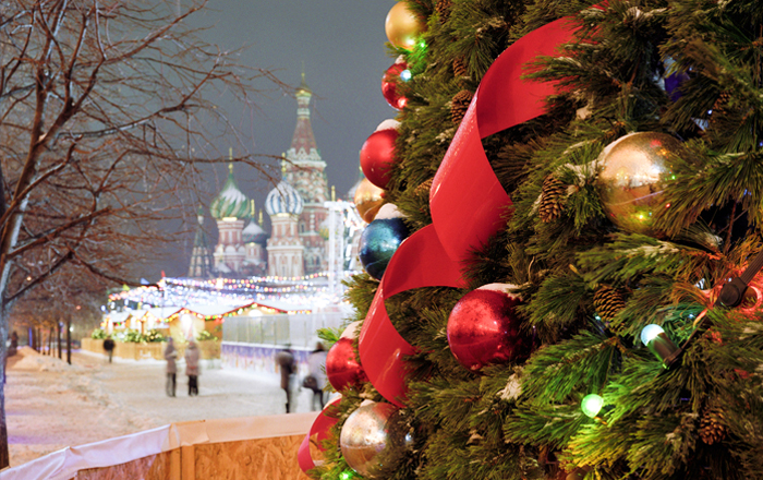 Best European Christmas markets: Moscow christmas market