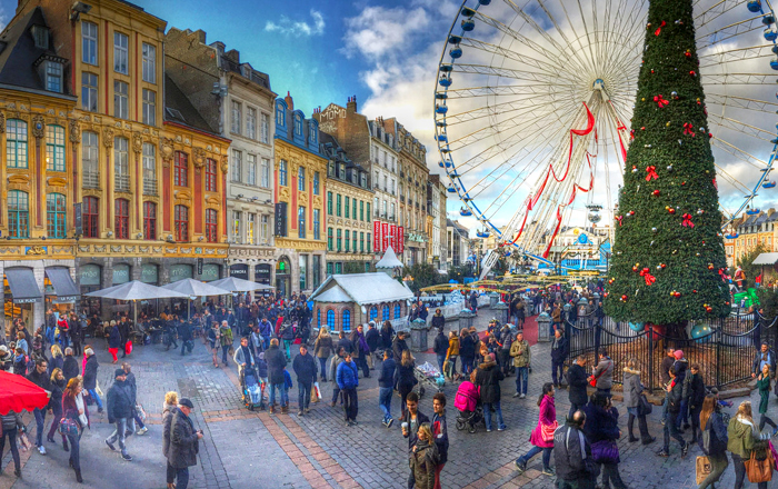 Best European Christmas markets: Lille christmas market