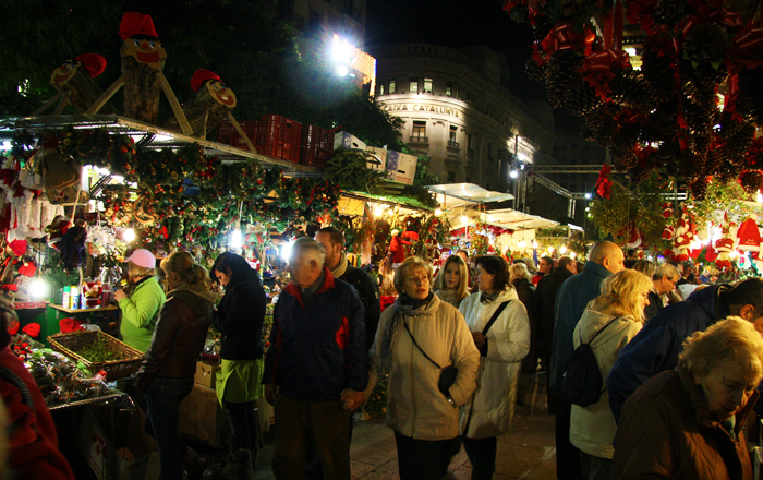 Best European Christmas markets: Barcelona christmas market