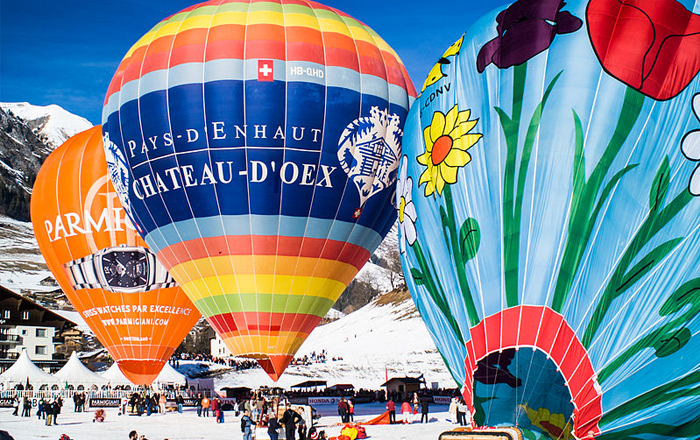 Top festivals in Switzerland: International Balloon Festival