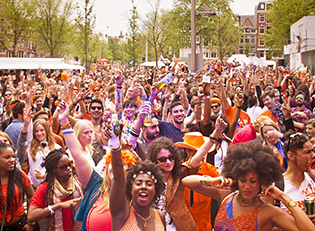 How to celebrate King's Day in the Netherlands