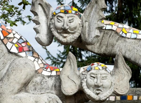 Switzerland's park legacy of one man's fantasy