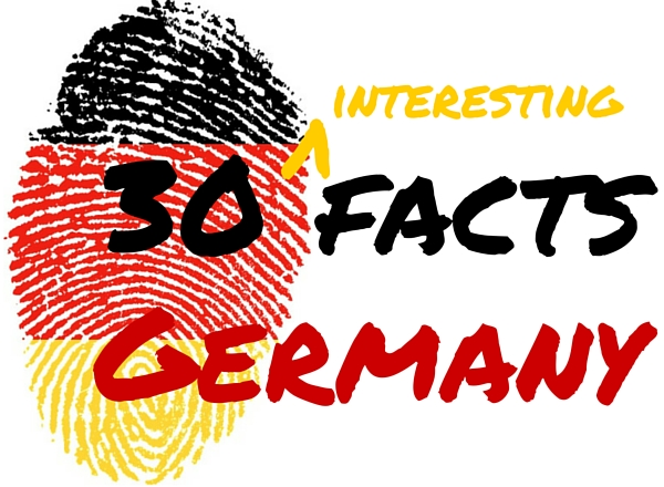 30 interesting facts about Germany