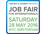 The Job Fair for Internationals returns 28 May: Register now!