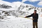 Israeli snow brings early winter to Austrian ski resort