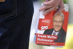 Wounded Social Democrats stagger into German election