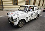 Smoke-spewing Trabant poised for rebirth as electric car