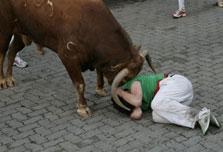 Spaniard gored to death in Pamplona bull run
