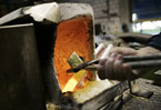 Refiner meets demand for solid gold