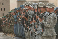 NATO fears for Afghan mission