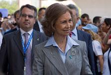 Queen Sofia puts Spain's monarchy in firing line
