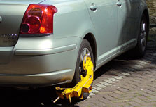 Amsterdam says goodbye to wheel clamps
