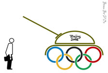 Beijing factories and Olympic red tape