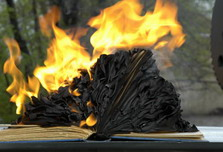Germany remembers authors of books burned by Nazis