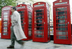 Britain's red phone boxes get new lease of life