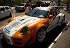 World's first hybrid GT race car makes green sexy